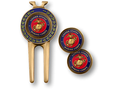 Marines Divot Tool & Ball Marker Set