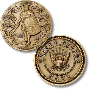 Bronze Armor of God, Navy coin