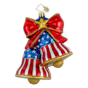 Radko Let Freedom Ring ornament
