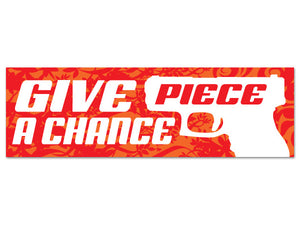 Give Piece a Chance sticker