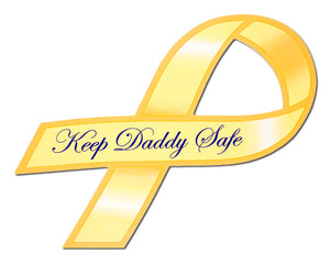 Keep Daddy Safe magnet