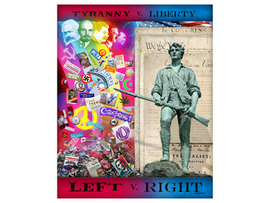 Left vs. Right poster
