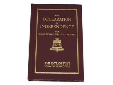 The Declaration of Independence - hardback