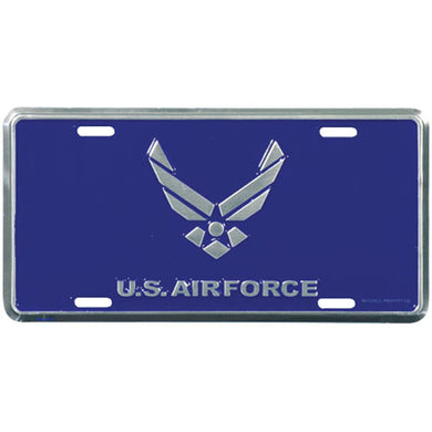 Air Force Wings license plate