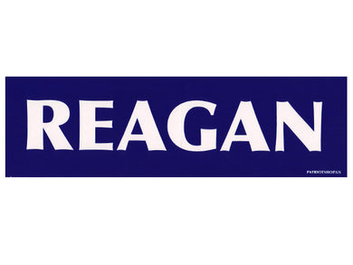 REAGAN sticker