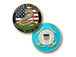 """Don't Tread on Me""  Coast Guard coin"