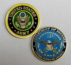 Army commemorative coin