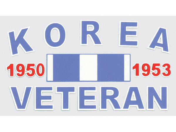 Korea Veteran decal