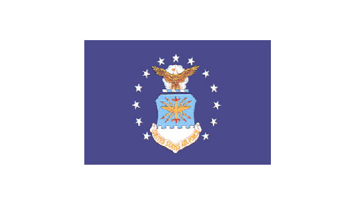 Air Force flag - polyester (3' x 5')