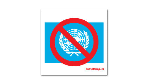 Anti-UN sticker