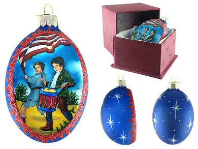 Patriotic Drummer ornament