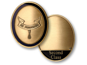 Second Class rank coin