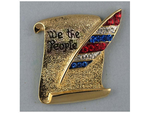 We the People pin
