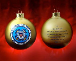 Patriot Exclusive Coast Guard Ornament