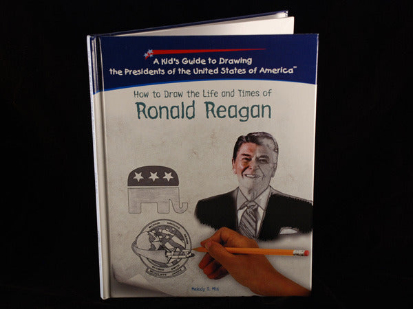 Overstock Sale - How to Draw the Life and Times of Ronald Reagan