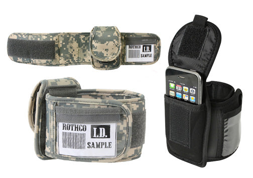 Armband ID/iPod holder - black