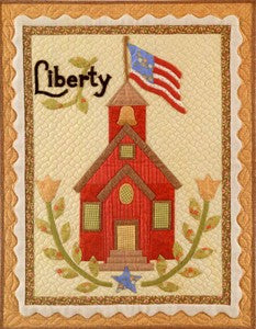 Liberty Vintage Quilt Wallhanging Pattern