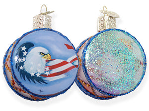 Patriotic Pride Drum ornament