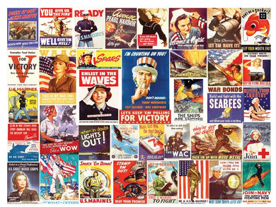 Vintage World War II posters - 550 pieces