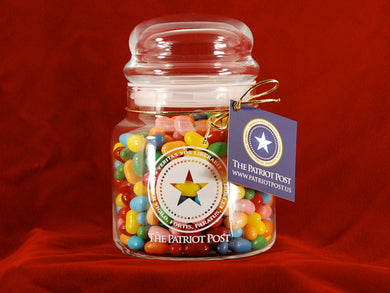 The Patriot Jelly Belly Jar -  Sour mix