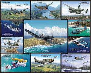 Airplanes of WWII puzzle