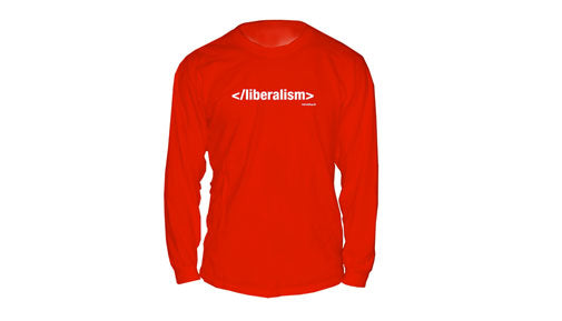 End Liberalism long-sleeve shirt