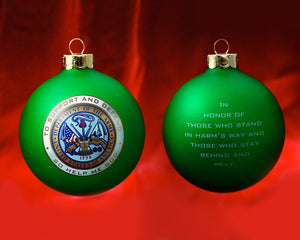 Patriot Exclusive Army Ornament