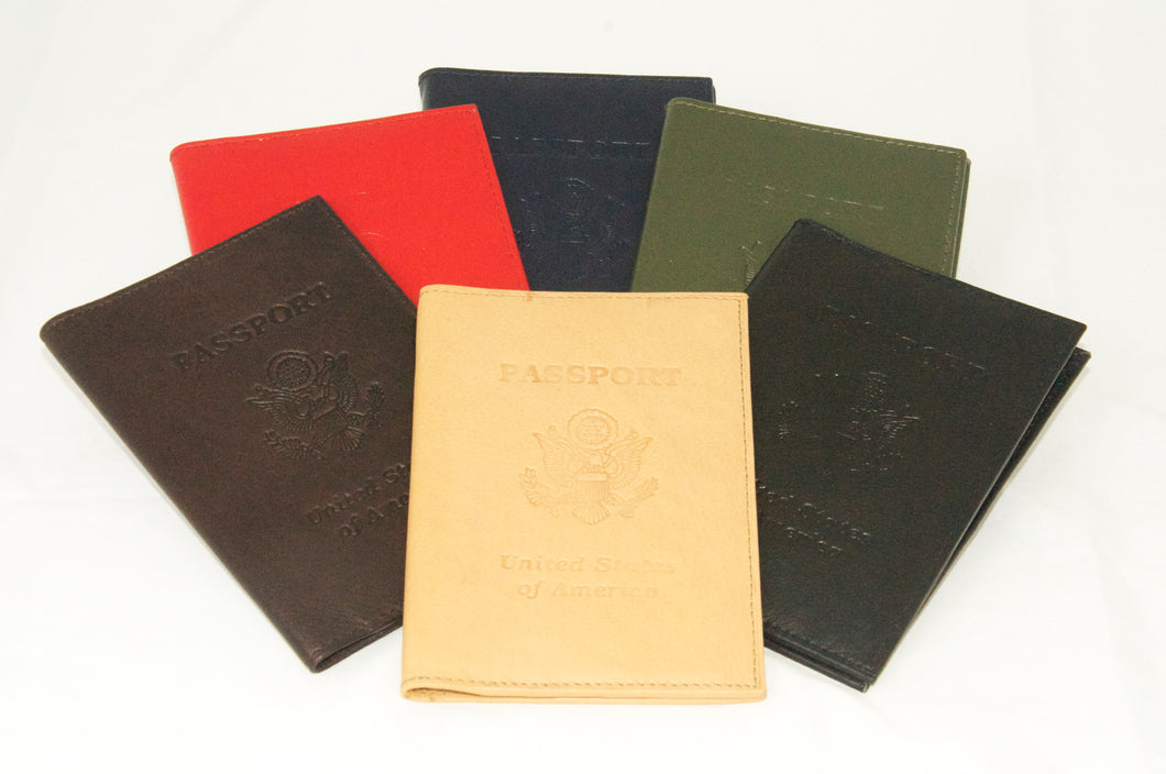 U.S. Seal leather passport cover