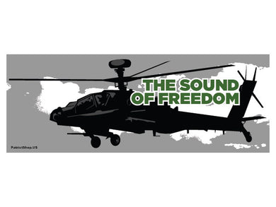 The Sound of Freedom sticker - Apache