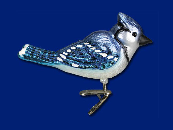 Patriot Blue Jay ornament