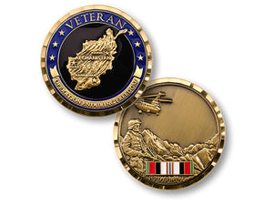 Operation Enduring Freedom Veteran coin