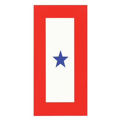Blue Star Service decal