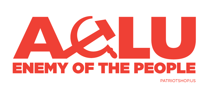 ACLU, Enemy of the People sticker