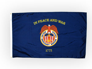 Merchant Marine flag - 3' x 5'