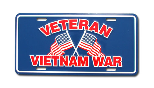 Vietnam Veteran license plate