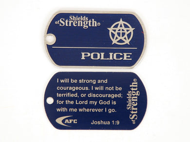 Police Shield- Joshua