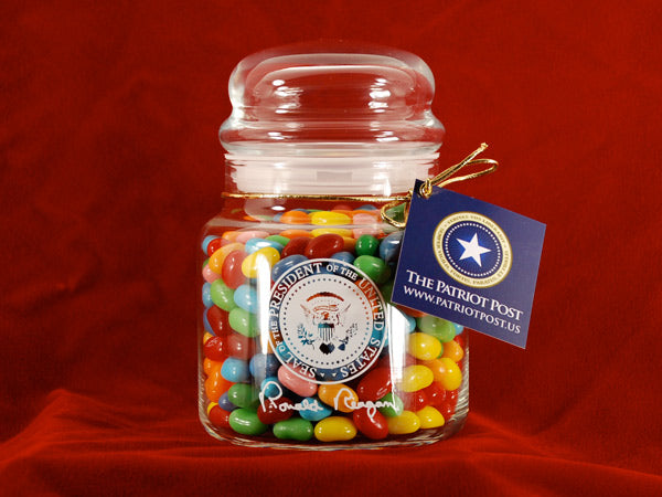 Ronald Reagan Jelly Belly Jar - Sour mix