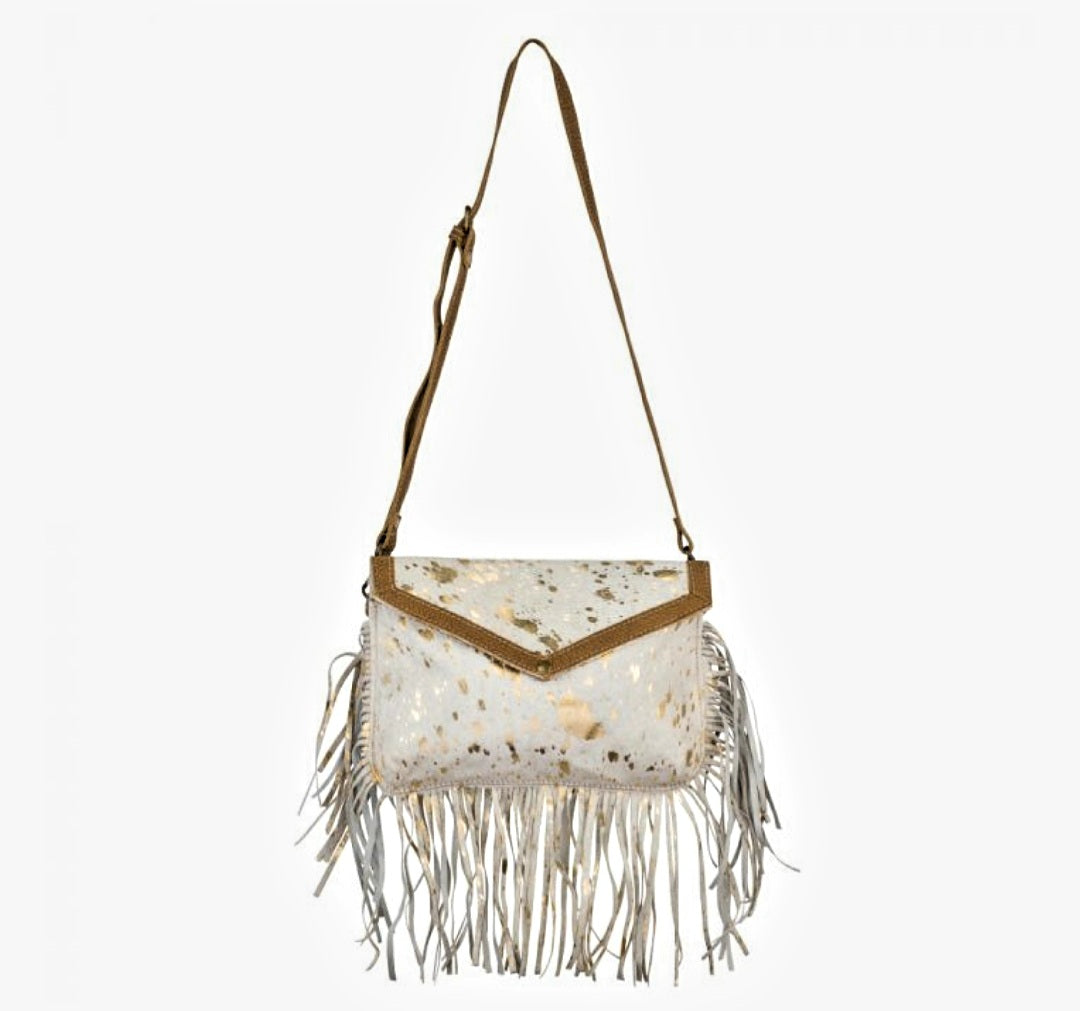 Golden Girl Hairon Bag