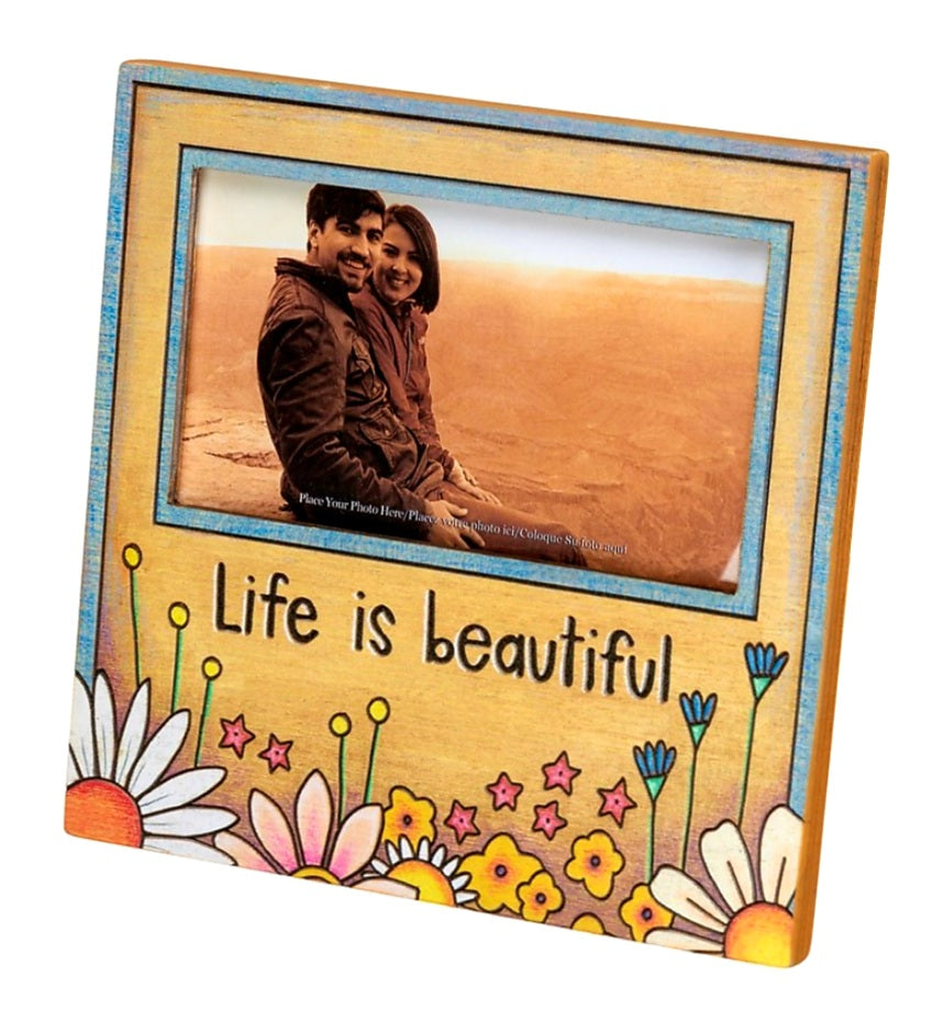 Life Is Beautiful Picture Frame