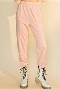 Misty Rose Joggers