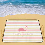 Flamingo Life Beach Mat - The Flamingo Shop
