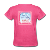 Flock This Way Flamingo Womens T-shirt - The Flamingo Shop