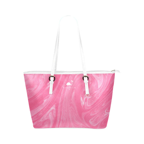 Flamingo Life Pink Swirl Tote Bag - The Flamingo Shop