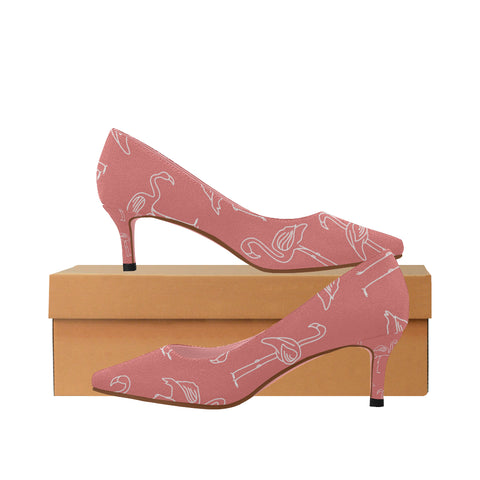 Low Heel Flamingo Shoes - The Flamingo Shop