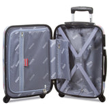 Flamingo 3-Piece Hardside Spinner Combination Lock Luggage Set - The Flamingo Shop