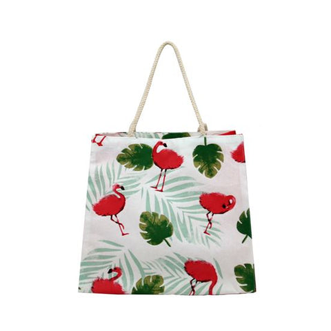 Flamingo Tote Water Resistant