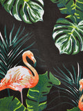 Flamingo & Palm Print Tote Bag - The Flamingo Shop
