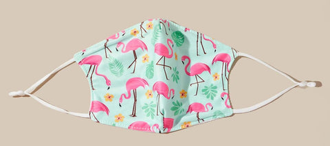 Flamingos Pattern Face Mask
