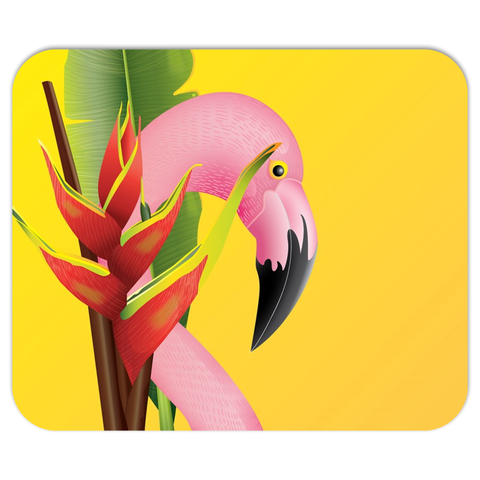 Tropical Flamingo Mouse Pad - The Flamingo Shop