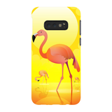Flamingos in the Sun Phone Cases